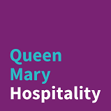 An image of the Queen Mary Hospitality Logo
